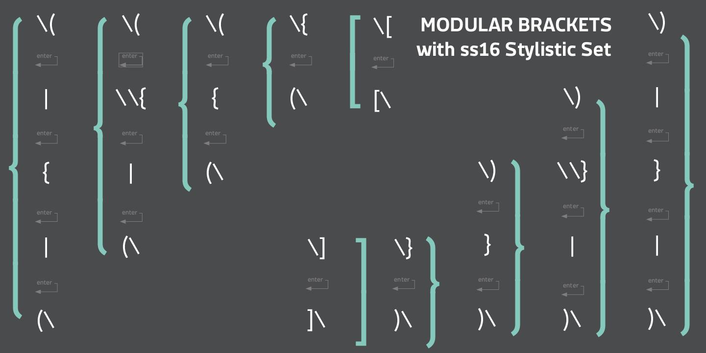 Macho Modular – Cast Type Foundry